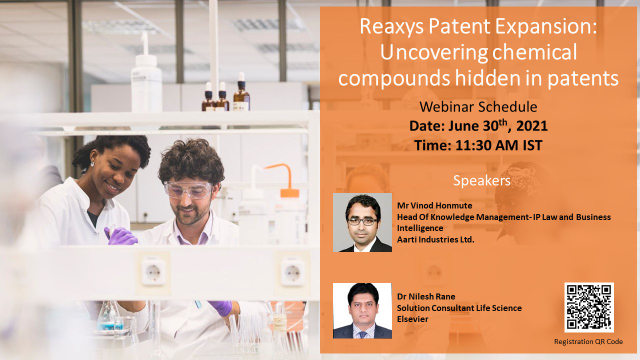 Reaxys Patent Expansion: Uncovering chemical compounds hidden in patents