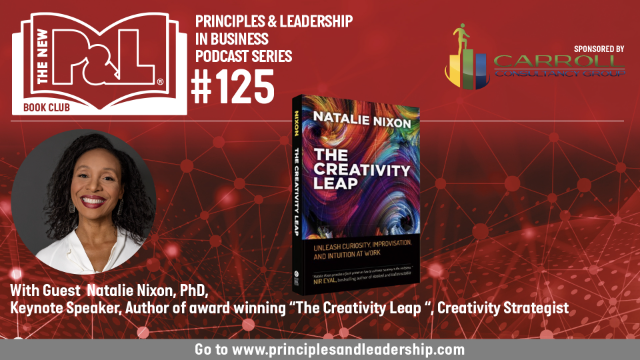 The New P&L speaks to Natalie Nixon, author of The Creativity Leap