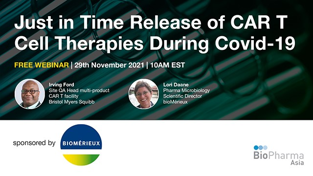 Just in Time Release of CAR T Cell Therapies During Covid-19
