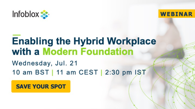 Enabling the Hybrid Workplace with a Modern Foundation