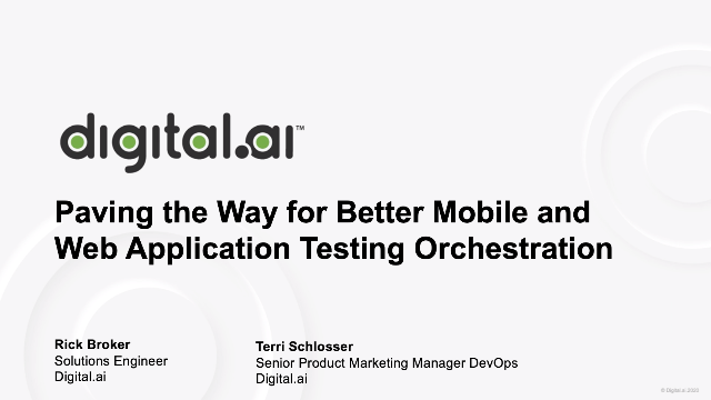 Paving the Way for Better Mobile and Web Application Testing Orchestration