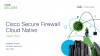 Enable security at DevOps speed with Cisco Secure Firewall Cloud Native on AWS