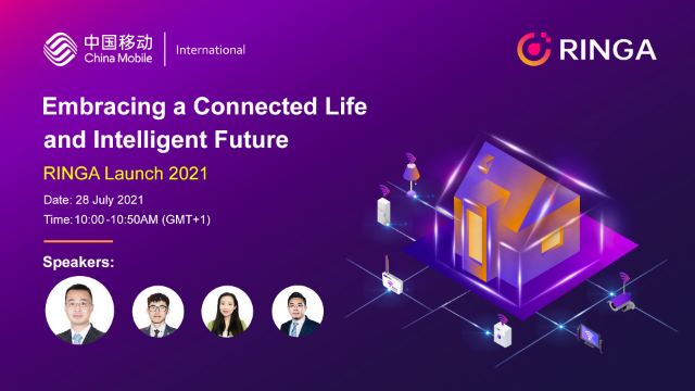 Embracing a Connected Life and Intelligent Future-RINGA Launch-IoT Smart Living