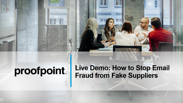 Live Demo: How to Stop Email Fraud from Fake Suppliers