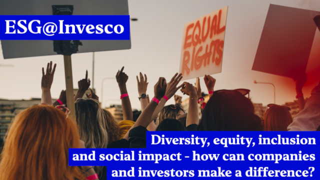 Diversity, equity, inclusion and social impact