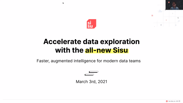 Accelerate data exploration with a new Sisu