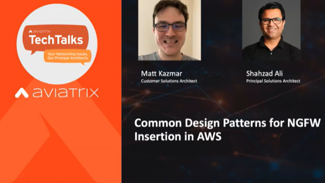 Common Design Patterns for Next Generation Firewall Insertion in AWS (emea)