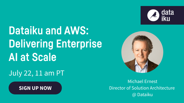 Dataiku and AWS: Delivering Enterprise AI at Scale