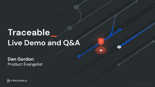 Live Traceable AI Demo and Q&A
