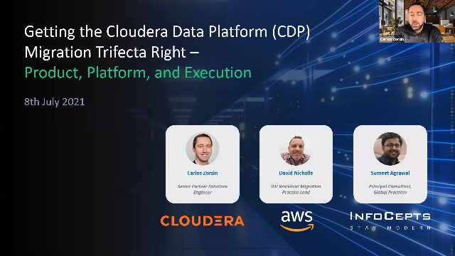 Getting the Cloudera Data Platform Migration Trifecta Right