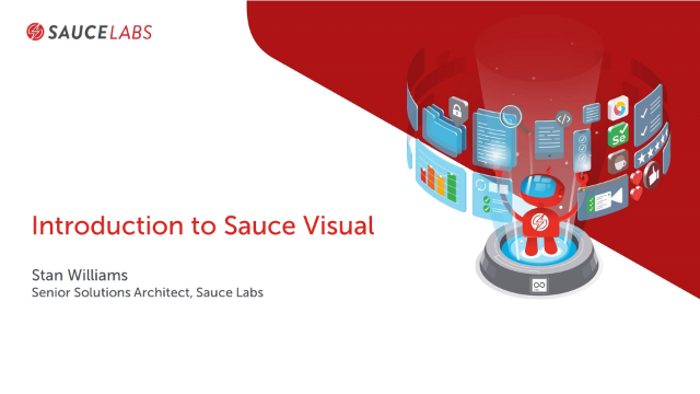 Introduction to Sauce Visual End-to-End Testing