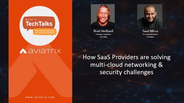 How SaaS providers are solving multi-cloud networking and security challenges