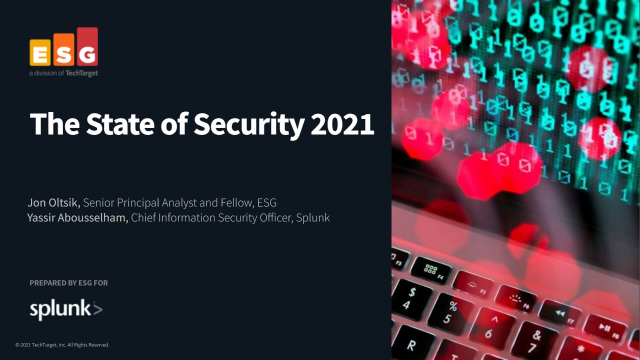 The State of Security 2021