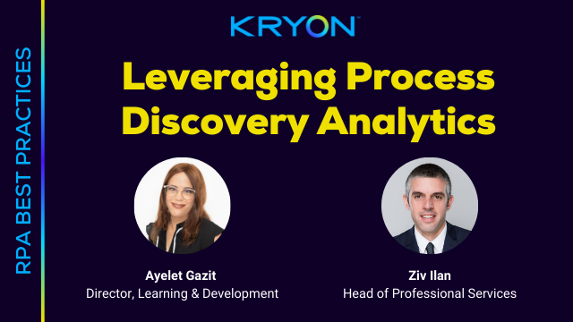 RPA Best Practices: Leveraging Process Discovery Analytics