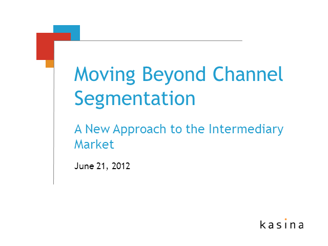 A New Approach to Advisor Segmentation