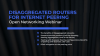 Disaggregated Routers for Internet Peering with Exaware