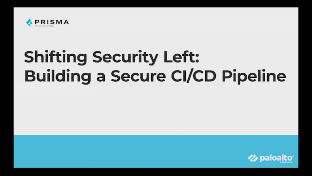 Shifting Security Left for a Secure CI/CD Pipeline