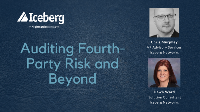 Auditing Fourth-Party Risk and Beyond