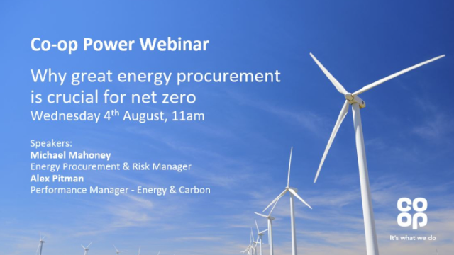 Why great energy procurement is crucial for net zero