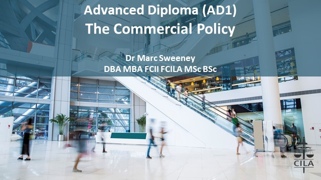 AD Tutorial 3 - The Commercial Policy