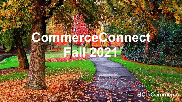 Fall 2021 Commerce Connect
