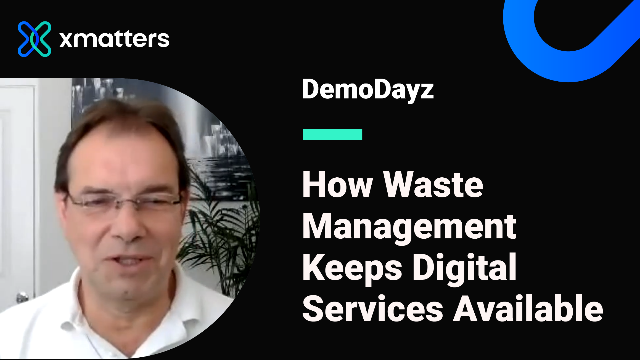 How Waste Management Keeps Digital Services Available