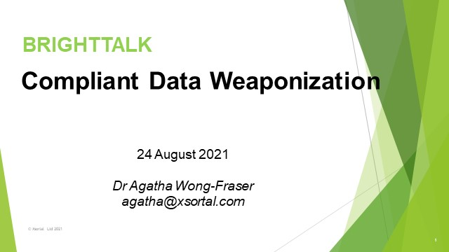 Compliant Data Weaponization: Financial Risk & Business Growth
