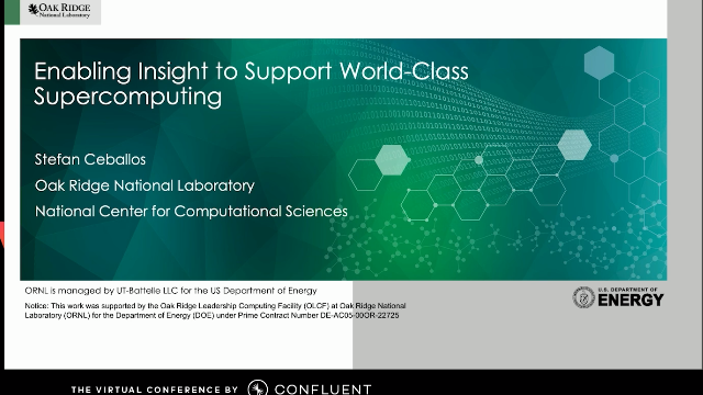 Enabling Insight to Support World-Class Supercomputing