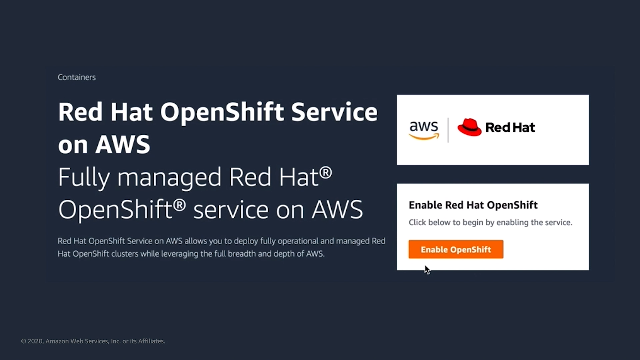 Red Hat OpenShift Deployment Options on AWS