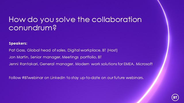 How do you solve the collaboration conundrum?