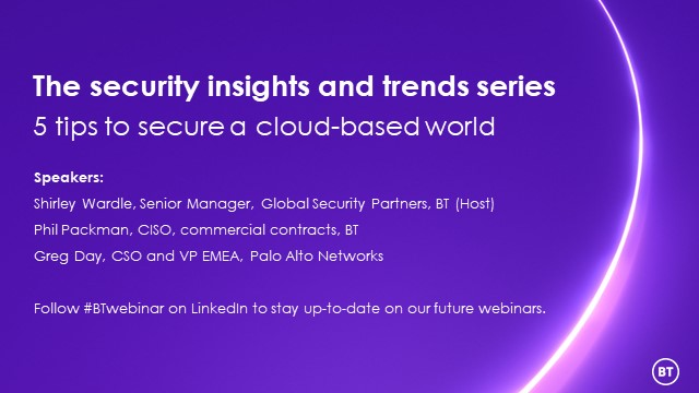 5 tips to secure a cloud-based world