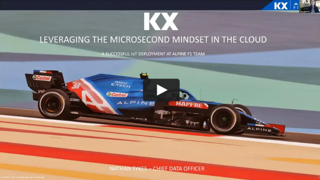 Leverage the Microsecond Mindset in the Cloud: real-time streaming analytics