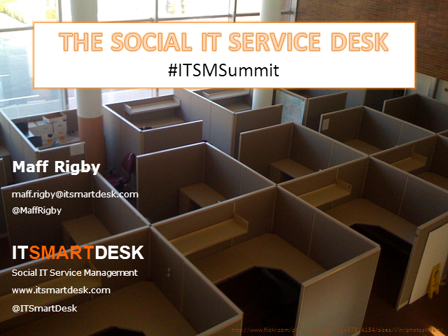 The Social IT Service Desk