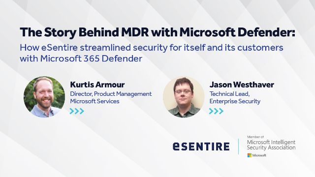 The Story Behind MDR with Microsoft Defender
