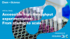 Accessible high-throughput experimentation from startup to scale