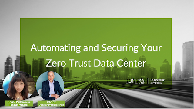 Automating and Securing Your Zero Trust Data Center