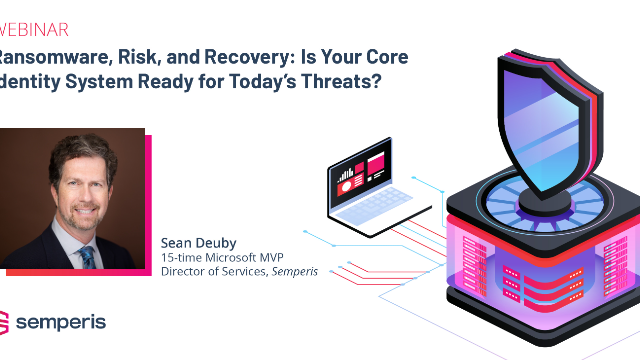 Ransomware, Risk and Recovery