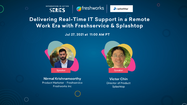 Delivering Real-time IT Support in a Remote Work Era