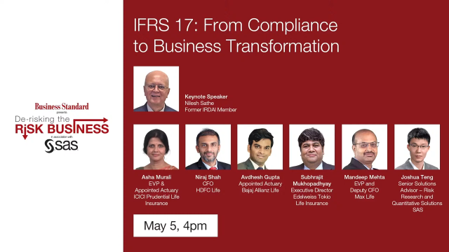 Risk Business webinar series - IFRS17 From Compliance to Business Transformation