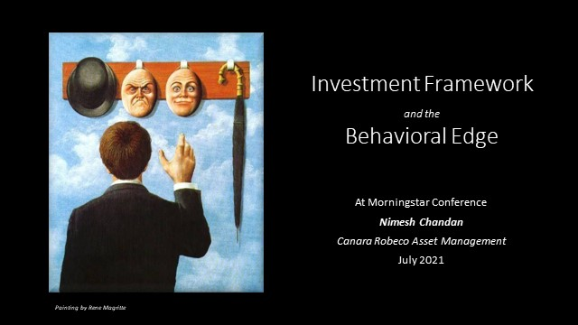 Equity Investment Frameworks and a Behavioral Edge