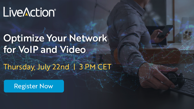 Optimize Your Network for VoIP and Video | LiveAction EMEA