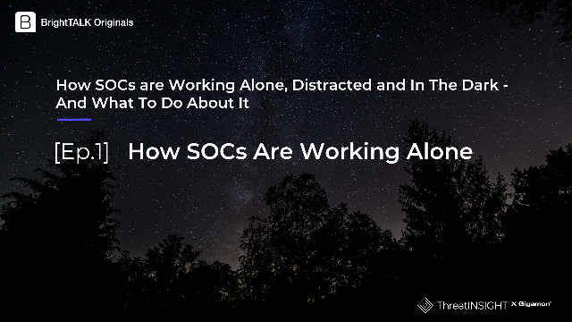 [Ep.1] How SOCS Are Working Alone – And What To Do About It