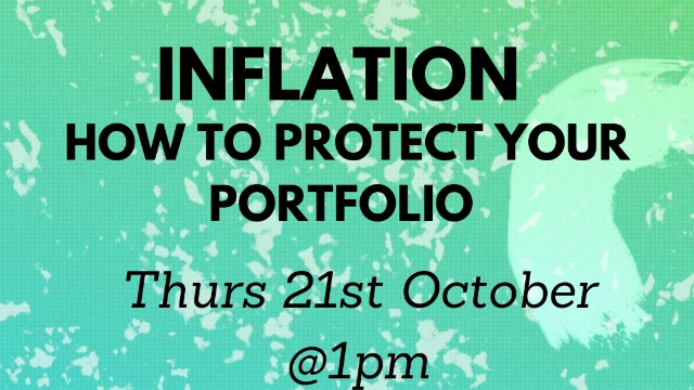 HOT TOPIC Inflation - how to protect your portfolio