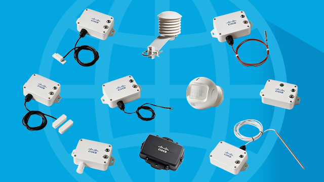 Enjoy peace of mind with Cisco's all-in-one industrial IoT sensor solution