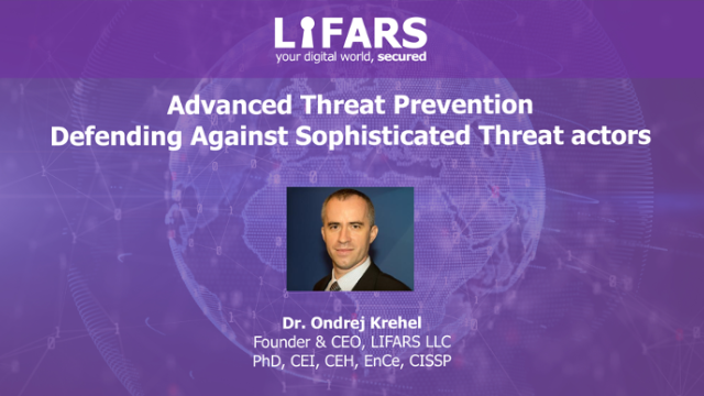 Advanced Threat Prevention – Defending Against Sophistocated Threat Actors