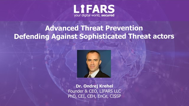 Advanced Threat Prevention - Defending Against Sophisticated Threat Actors