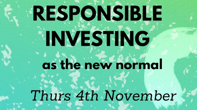 HOT TOPIC Responsible investing as the new normal