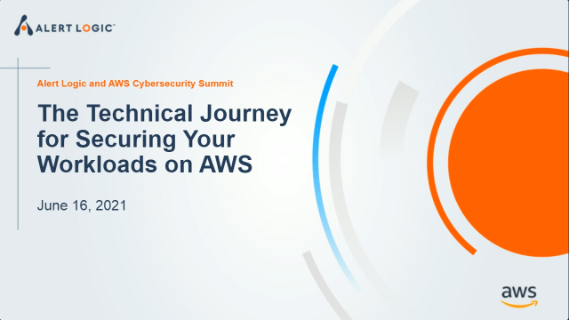 The Technical Journey for Securing Your Workloads on AWS