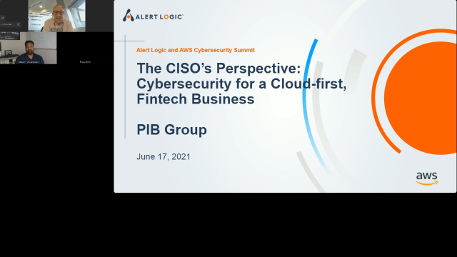 The CISO Perspective on Cybersecurity for a Cloud-first, Fintech Business