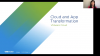 Apps & Cloud: A Tale of Three Transformations
